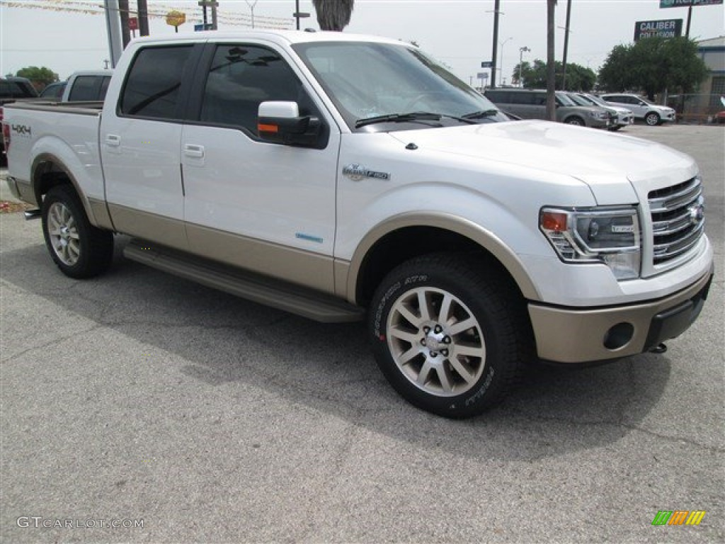 2014 white platinum ford f150 king ranch supercrew 4x4 95171921 car color. Black Bedroom Furniture Sets. Home Design Ideas
