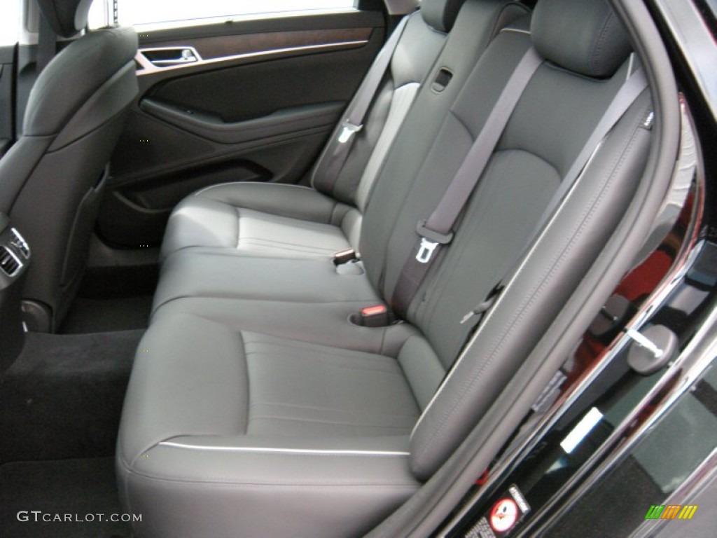 Black Interior 2015 Hyundai Genesis 5 0 Sedan Photo 95214873