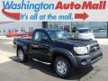 2011 Black Toyota Tacoma Regular Cab 4x4 #95208287