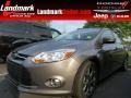 Sterling Gray 2014 Ford Focus SE Hatchback