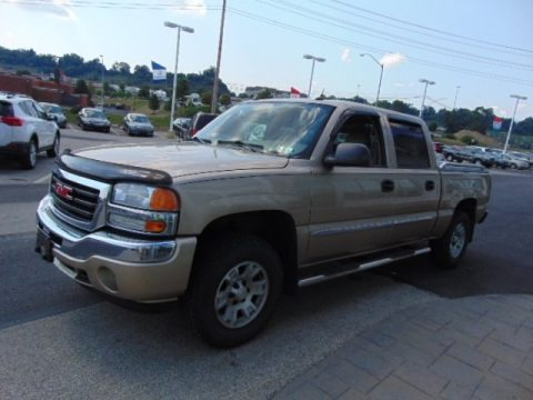 2005 gmc sierra 1500 slt crew cab 4x4 data info and specs. Black Bedroom Furniture Sets. Home Design Ideas