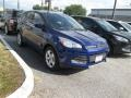 2014 Deep Impact Blue Ford Escape SE 1.6L EcoBoost  photo #3