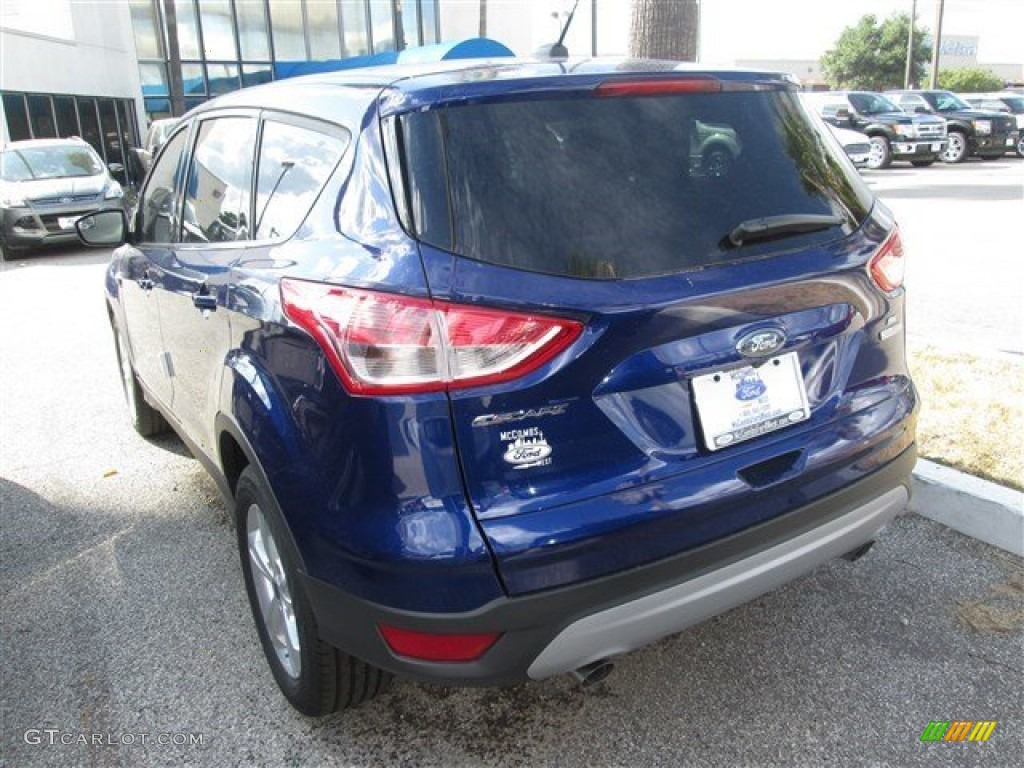 2014 Escape SE 1.6L EcoBoost - Deep Impact Blue / Medium Light Stone photo #4