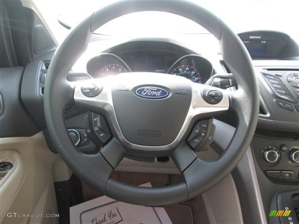 2014 Escape SE 1.6L EcoBoost - Deep Impact Blue / Medium Light Stone photo #9