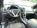 2015 Ford Explorer Charcoal Black Interior Prime Interior Photo