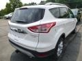 2014 White Platinum Ford Escape Titanium 2.0L EcoBoost 4WD  photo #2