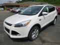 2014 White Platinum Ford Escape Titanium 2.0L EcoBoost 4WD  photo #5