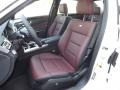 designo Mystic Red 2014 Mercedes-Benz E Interiors