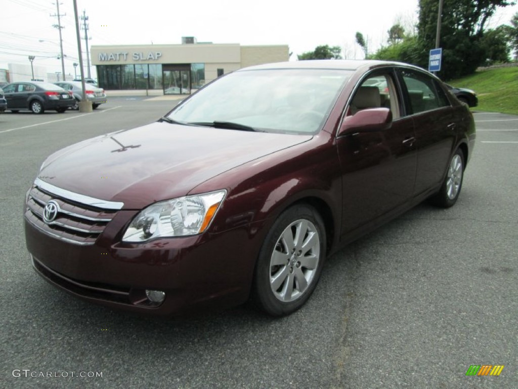 2007 cassis red pearl toyota avalon xls 95359709 photo 2. Black Bedroom Furniture Sets. Home Design Ideas