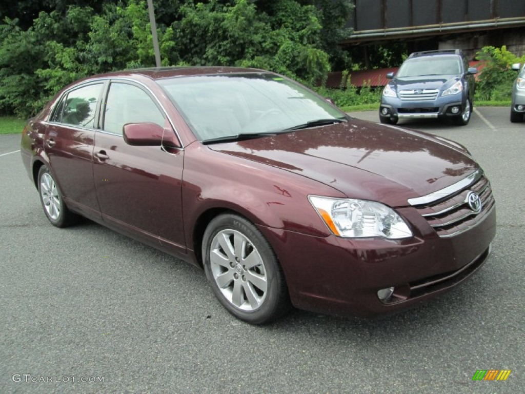 2007 cassis red pearl toyota avalon xls 95359709 photo 4. Black Bedroom Furniture Sets. Home Design Ideas