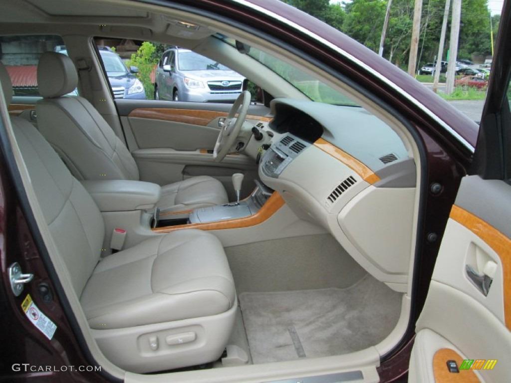 Ivory Interior 2007 Toyota Avalon Xls Photo 95360114 Gtcarlot Com