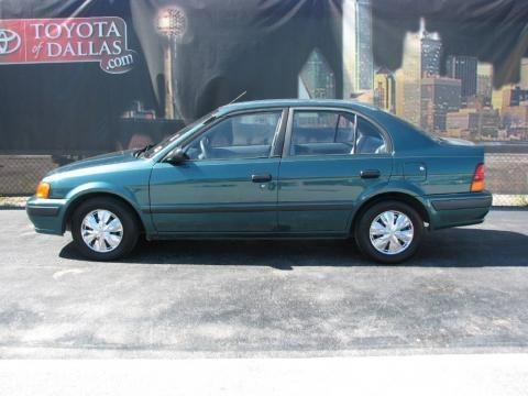 Toyota Tercel. 1995 Toyota Tercel Colors