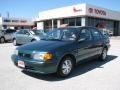 Sierra Green Metallic - Tercel DX Sedan Photo No. 2