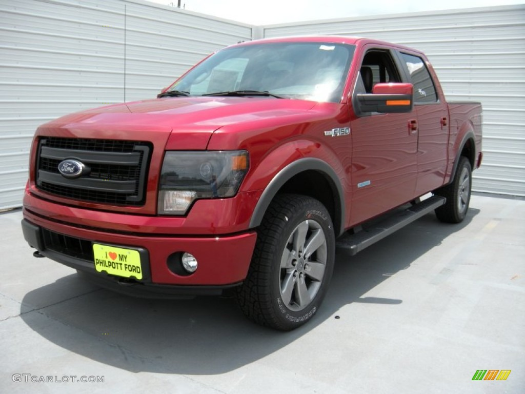 2014 ruby red ford f150 fx4 supercrew 4x4 95363799 photo 7 car color galleries. Black Bedroom Furniture Sets. Home Design Ideas