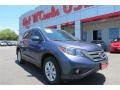 Twilight Blue Metallic 2013 Honda CR-V EX-L