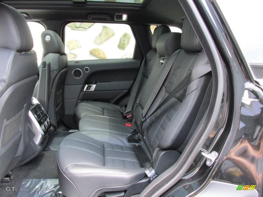 Ebony Lunar Ebony Interior 2014 Land Rover Range Rover