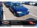 Dark Blue Pearl 1998 Toyota Corolla LE