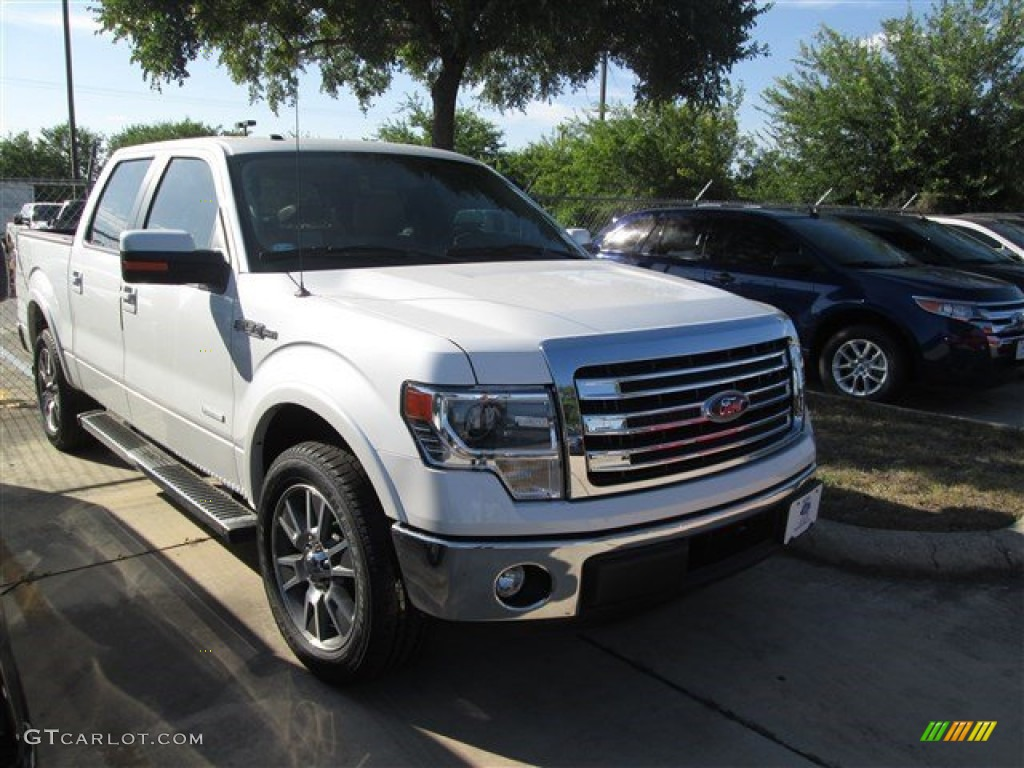 2014 f150 lariat white the image kid has it. Black Bedroom Furniture Sets. Home Design Ideas