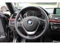 Black Steering Wheel Photo for 2014 BMW 3 Series #95405036