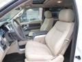 2014 White Platinum Ford F150 XLT SuperCrew 4x4  photo #9