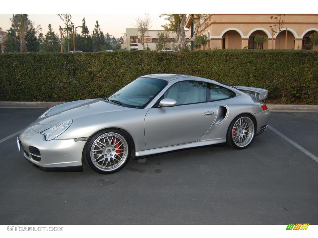 2001 arctic silver metallic porsche 911 turbo coupe gt640. Black Bedroom Furniture Sets. Home Design Ideas