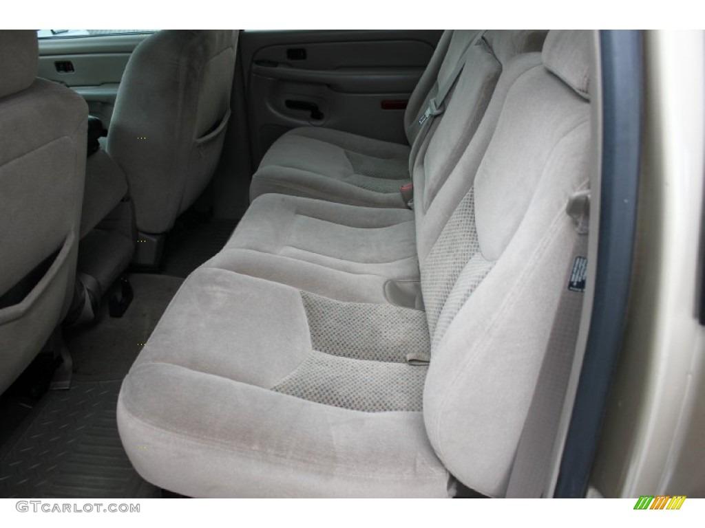 2005 Chevrolet Silverado 1500 LS Crew Cab Interior Color Photos