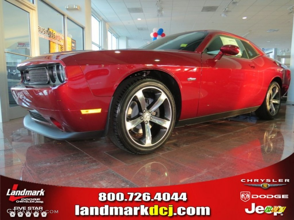 2014 High Octane Red Pearl Dodge Challenger SXT 100th Anniversary ...