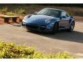 2007 Cobalt Blue Metallic Porsche 911 Turbo Coupe  photo #3