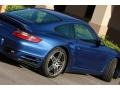 2007 Cobalt Blue Metallic Porsche 911 Turbo Coupe  photo #11