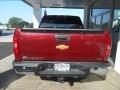 2013 Deep Ruby Metallic Chevrolet Silverado 1500 LTZ Crew Cab 4x4  photo #6