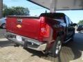 2013 Deep Ruby Metallic Chevrolet Silverado 1500 LTZ Crew Cab 4x4  photo #7