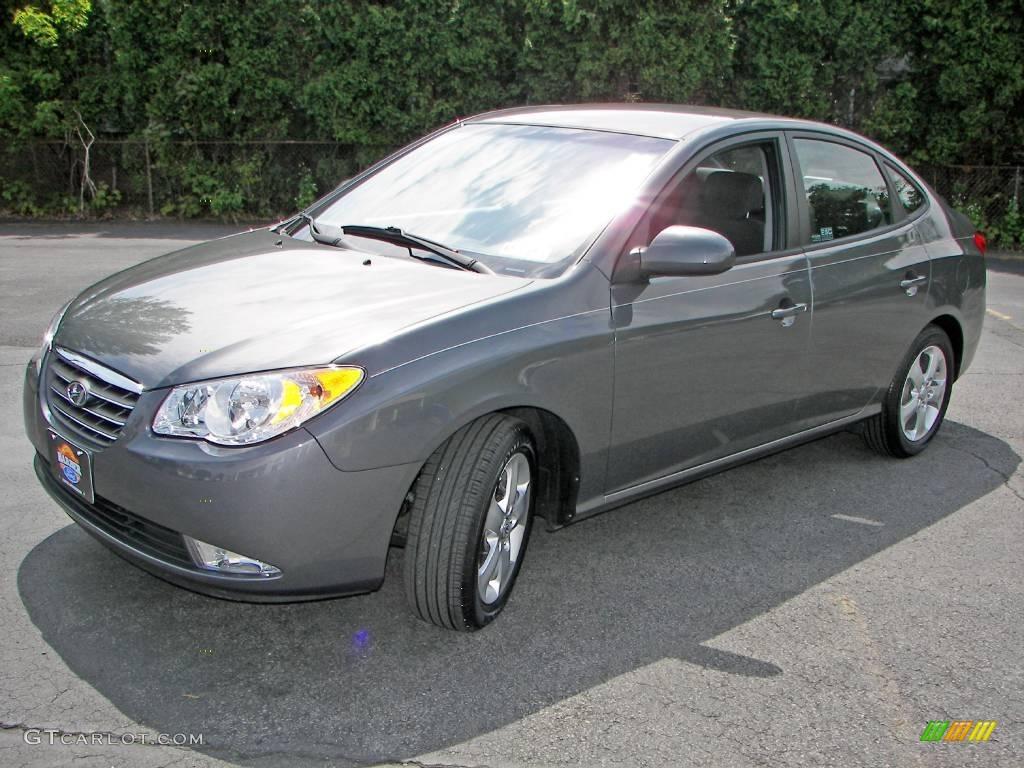 2008 carbon gray metallic hyundai elantra se sedan. Black Bedroom Furniture Sets. Home Design Ideas