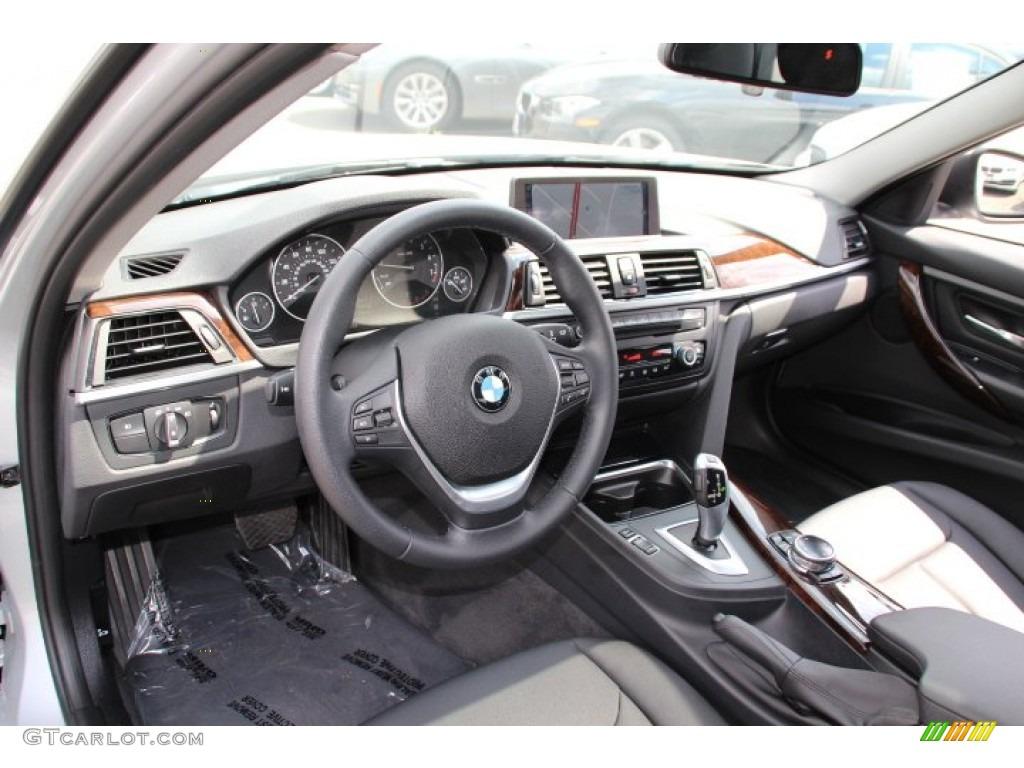 Black Interior 2014 BMW 3 Series 328i XDrive Sedan Photo