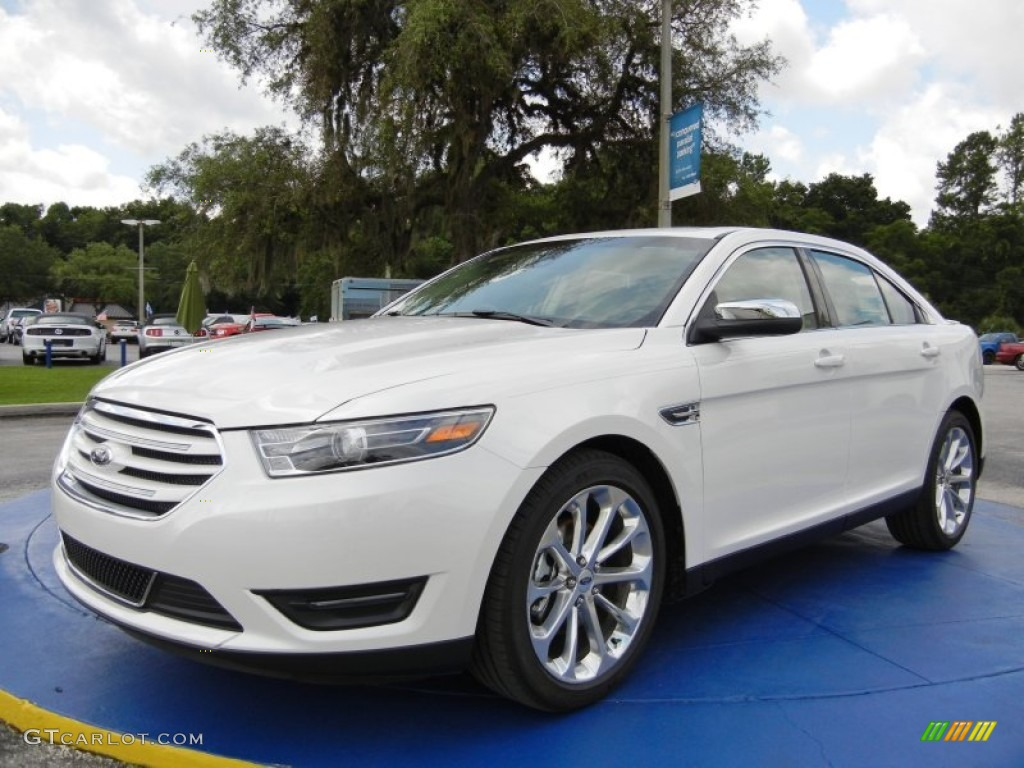 2015 white platinum metallic ford taurus limited 95468769 car color galleries. Black Bedroom Furniture Sets. Home Design Ideas