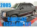 2005 Black Raven Cadillac Escalade EXT AWD #95468598
