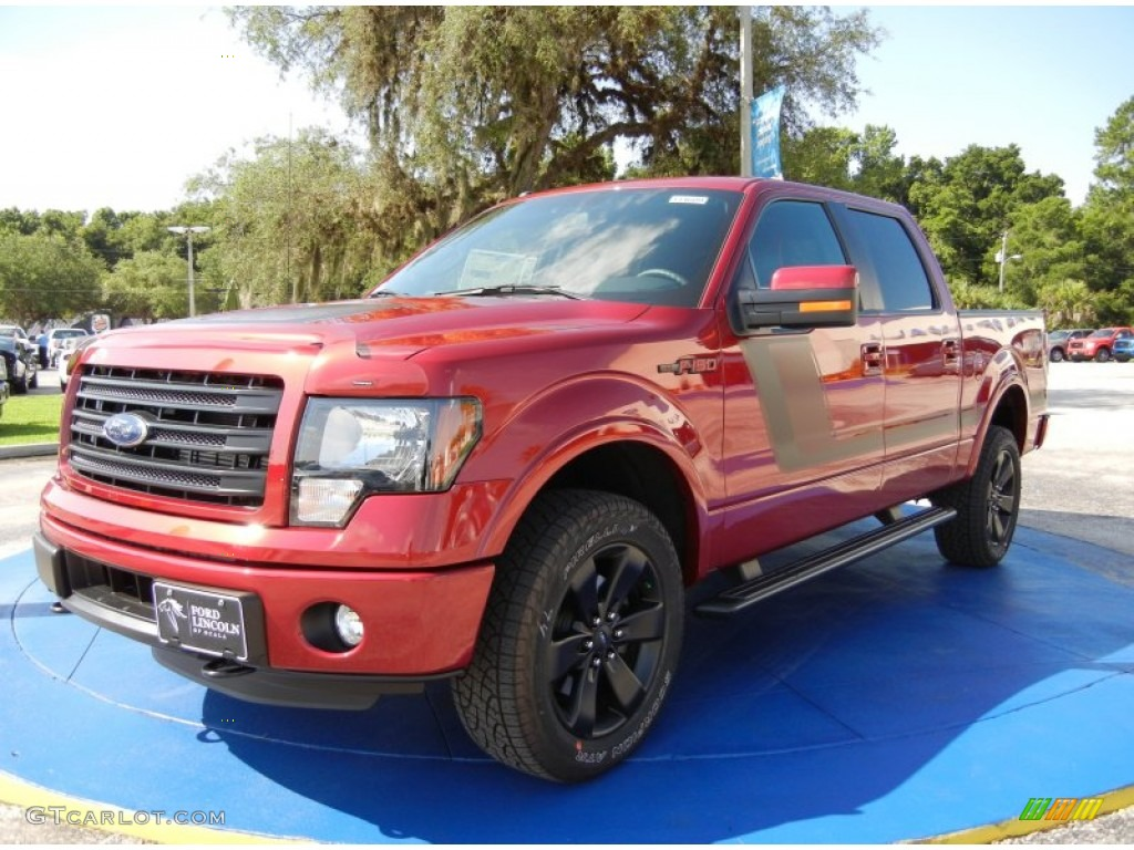 2014 ruby red ford f150 fx4 supercrew 4x4 95468763 photo 3 car color galleries. Black Bedroom Furniture Sets. Home Design Ideas