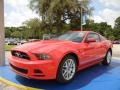 2014 Race Red Ford Mustang V6 Premium Coupe #95468761