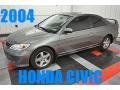 Magnesium Metallic 2004 Honda Civic EX Coupe