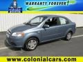 Icelandic Blue Metallic 2008 Chevrolet Aveo LS Sedan