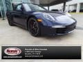 Dark Blue Metallic 2014 Porsche 911 Carrera S Coupe