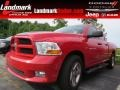 2012 Flame Red Dodge Ram 1500 ST Quad Cab #95510668