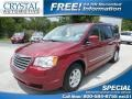 Inferno Red Crystal Pearl 2010 Chrysler Town & Country Touring