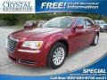 Deep Cherry Red Crystal Pearl 2011 Chrysler 300