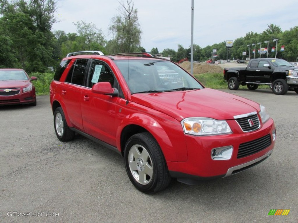 Chili Pepper Red 2007 Saturn Vue V6 Exterior Photo