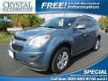 Twilight Blue Metallic 2011 Chevrolet Equinox LT