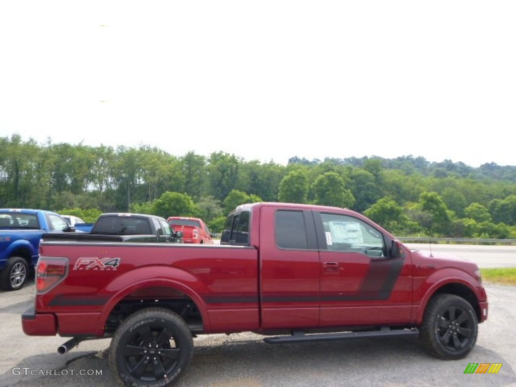 2014 ruby red ford f150 fx4 supercab 4x4 95510506 car color galleries. Black Bedroom Furniture Sets. Home Design Ideas