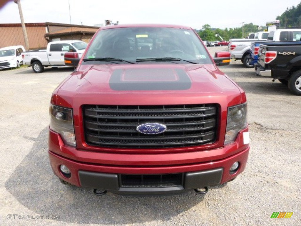 2014 Ruby Red Ford F150 FX4 SuperCab 4x4 #95510506 Photo ...