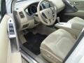 2011 Glacier White Pearl Nissan Murano SV AWD  photo #6