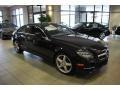 Obsidian Black Metallic 2014 Mercedes-Benz CLS 550 4Matic Coupe