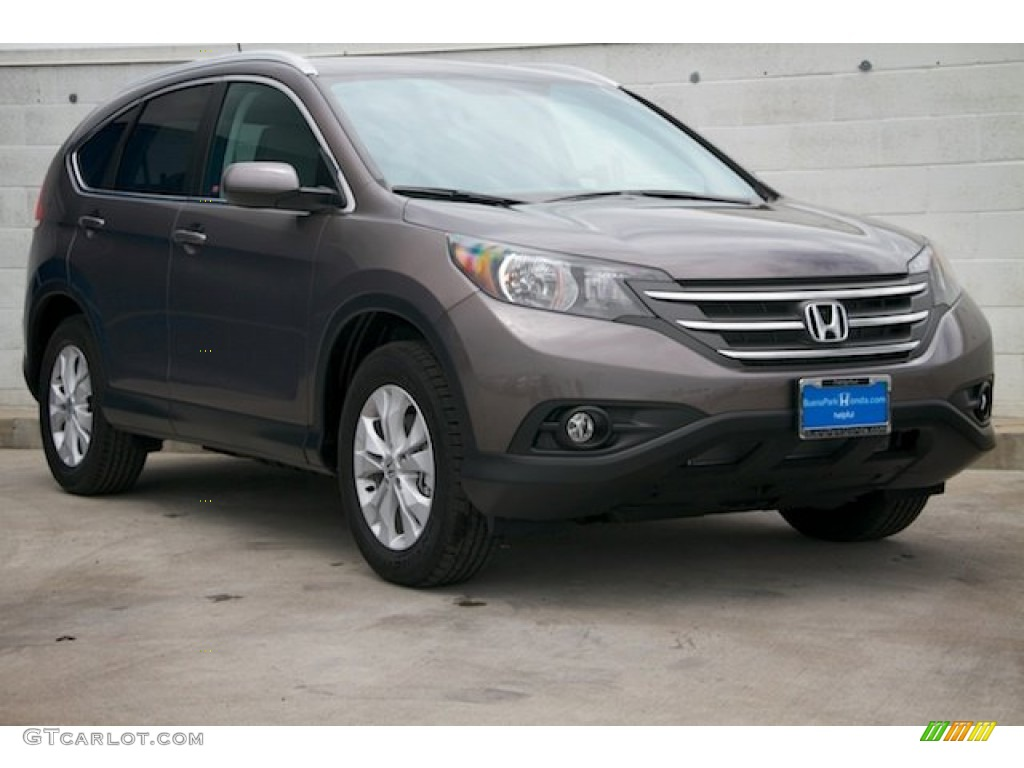 2014 CR-V EX-L - Urban Titanium Metallic / Black photo #1